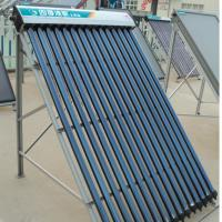 Large picture heat pipe solar collector