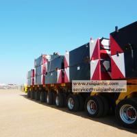 Large picture Hydraulic multi axle modular trailer