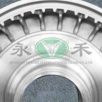Large picture solid tyre mould