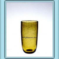 Large picture glass tumbler