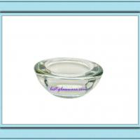 Large picture glass tealight holder