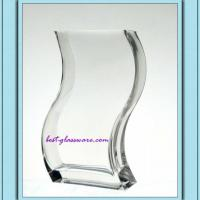 Large picture custom glass vase