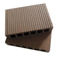 Large picture wood plastic composite decking material