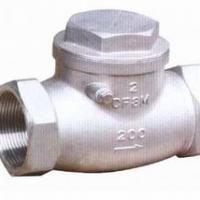 Large picture STAINLESS STEEL SWING CHECK VALVE