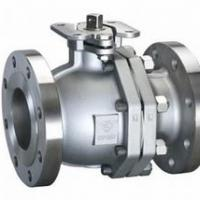 Large picture STAINLESS STEEL 2 PIECE FLANGED BALL VALVE