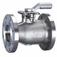 Large picture STAINLESS STEEL 1 PIECE FLANGED BALL VALVE