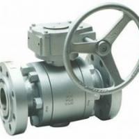 Large picture API TRUNNION BALL VALVE