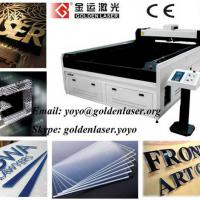 Large picture Acrylic Signs Laser Cutting Machine