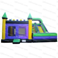 Large picture Purple Inflatable Bounce Slide Combination
