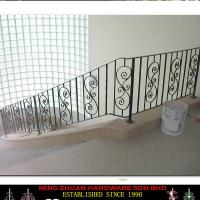 Large picture Wrought Iron Stair Design