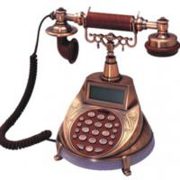 Large picture Antique phone