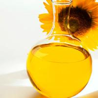 Large picture sunflower oil