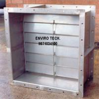 Large picture Gravity Louver Damper.