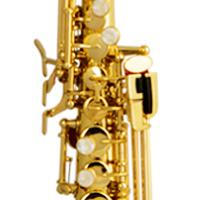 Large picture bE Straight soprano saxophone supplier