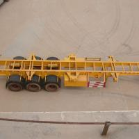 Large picture container chassis /semi trailer