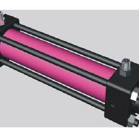 Large picture double-acting hydraulic cylinder