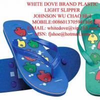 Large picture most cheap white dove pvc slipper