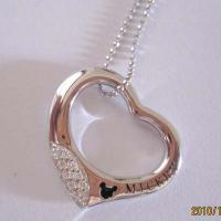 Large picture 925 Sterling silver Cubic Zironia necklace