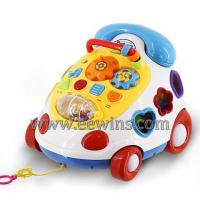 Large picture Music phone cable car toys with blocks