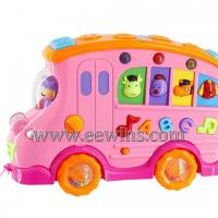 Large picture Learning music car with 2 faces(music and drawing)