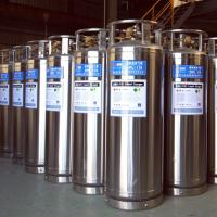 Large picture Cryogenic liquid cylinder