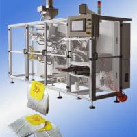 Large picture Double chamber teabag packing machine