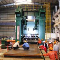 Large picture plate leveling machine