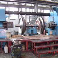 Large picture wheelset press machine