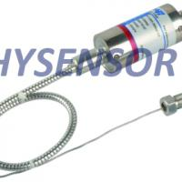 Exposed melt pressure transducer