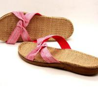 Large picture Jute slipper cotton slipper Walmart vendor