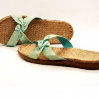 Large picture natural cotton jute slipper Walmart vendor