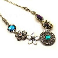 Large picture Alloy antique bronze plated necklace