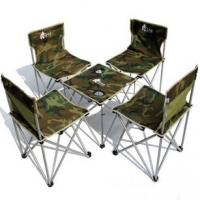 Large picture Folding camping table and chair set