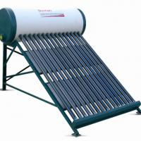 Large picture one pipe inlet-outlet solar water heater