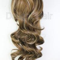 Large picture synthetic hair pieces