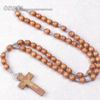 Large picture cord rosary,rope rosary,knotted cord rosary