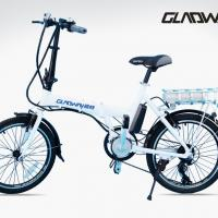 Large picture lithium battery electric bicycle