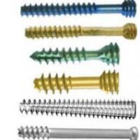 Large picture cannulated screw system