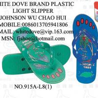 Large picture Pvc slipper white dove 915a  1