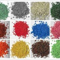 Large picture colored EPDM granule