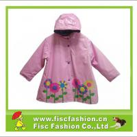 Large picture Girls Shiny PVC Raincoat Jacket