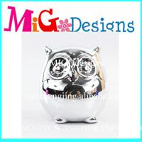 Large picture ceramice owl piggy bank