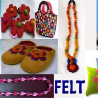 Large picture Felt items from Nepal