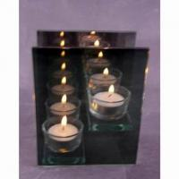 Large picture votive candle
