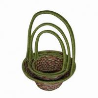 Large picture sisal basket