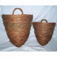 Large picture wall hanging basket