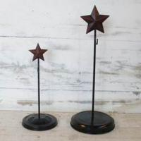 Large picture metal star decoration