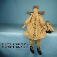 Large picture fabric doll
