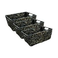 Large picture Water Hyacinth Handle Basket