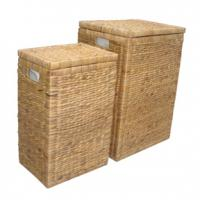 Large picture Water Hyacinth Laundry Basket